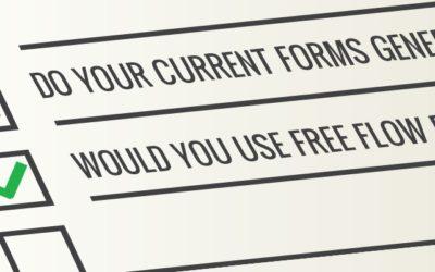 We explain Free Flow Forms