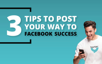 3 Tips to Post Your Way to Facebook Success