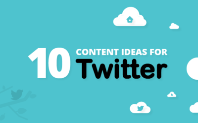 10 Content Ideas for Twitter